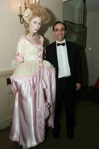 "Nadeem Azam at Awin's black-tie dinner event ""An Elaborate Execution"" in 2009"