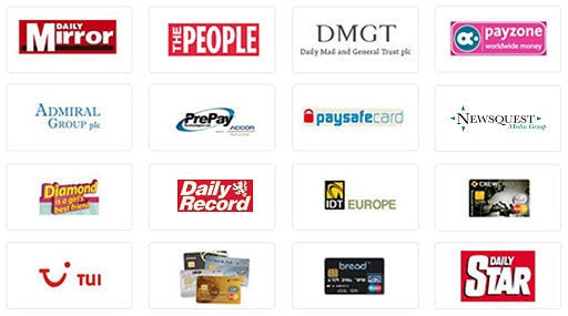 Just a handful of the 100 major partnerships that Azam Marketing has won for our client