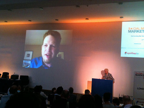 Chris Brogan was interviewed by Murray Newlands by video conference