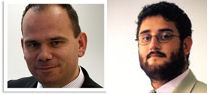 Mark Smith and Maziar Darvish, the two CEOs. The latter will be able to concentrate on operational matters now rather than having to deal with the City, which was not seen as his strength