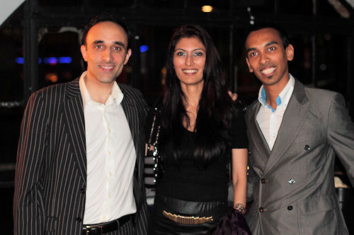 Nadeem with Sabah and Rafi from AT Internet